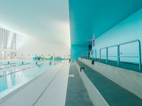 Photo BAGNEUX SWIMMING-POOL - Ludwig Favre