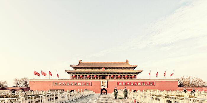 Photo BEIJING - TIAN ANMEN - Laurent Dequick