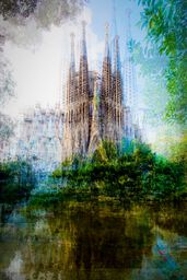 Barcelona Placa de Gaudi
