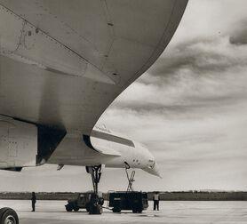 Photo Voilure du Concorde 1968 - Jean Dieuzaide