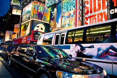 Reflets sur Broadway