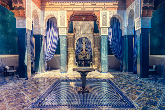 Photo MARRAKECH PALAIS - Bernhard Hartmann