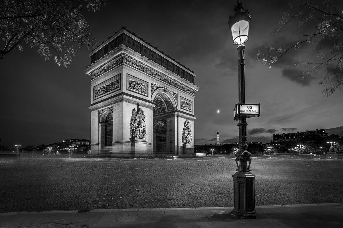 Photographie arc de triomphe serge ramelli yellowkorner for Photographie paris