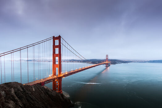 Photo Golden gate golden state - Ludwig Favre