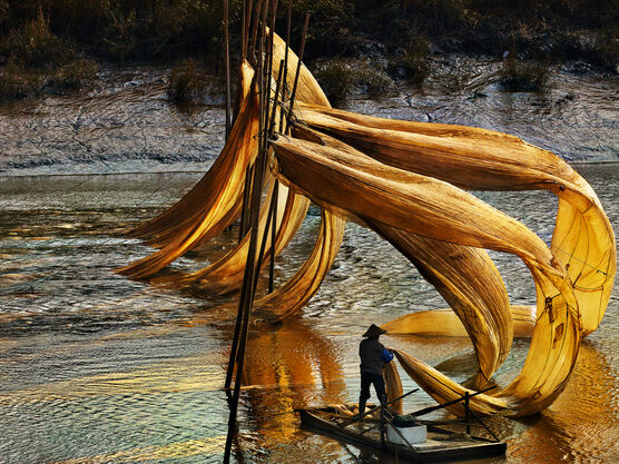 Photo Floating nets - Thierry Bornier