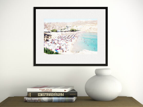 Photo Mykonos Beach - Richard Silver