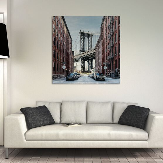 Photo MANHATTAN BRIDGE OVER EAST RIVER - Guillaume Dutreix