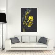 Seahorse with Giant Kelp