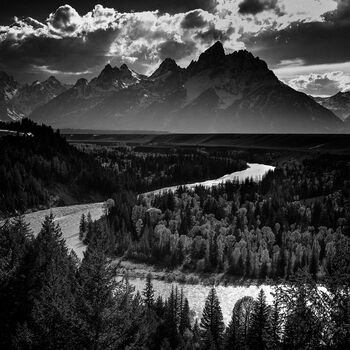 Photo Snake River Grand Teton - Laurent Baheux