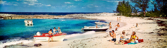 Photo NASSAU BAHAMAS 1966 - Colorama