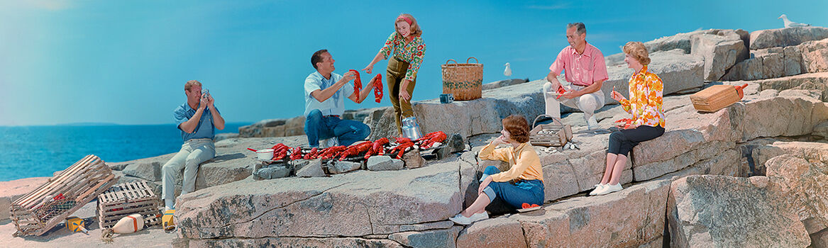 Photo LOBSTER BAKE 1963 - Colorama