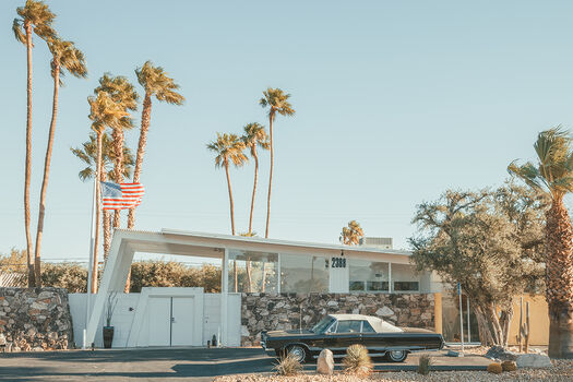 Photo PALM SPRINGS HOUSE - Ludwig Favre
