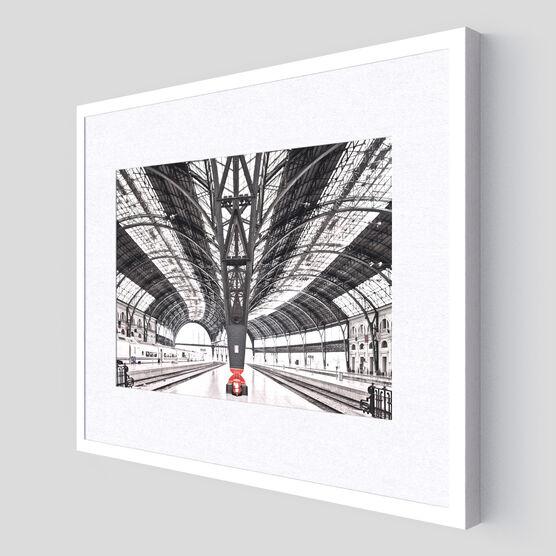 Photo Train station Barcelona - Franck Bohbot