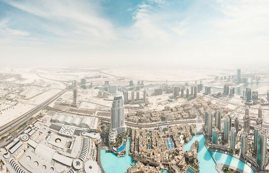 Photo Dubai Aerial III - Johannes Heuckeroth