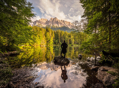 Photo THE WANDERER S JOURNEY IV - Bernhard Hartmann