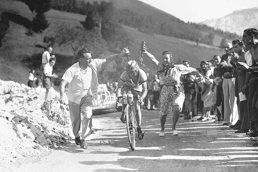 Photo Jean Robic, 1947 - SPORTS PRESSE