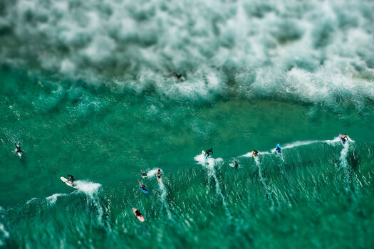 Photo CLOUD SURFERS - Richard Hirst
