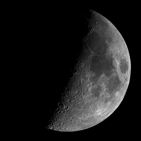 Photo Premier quartier de lune - Mario Weigand