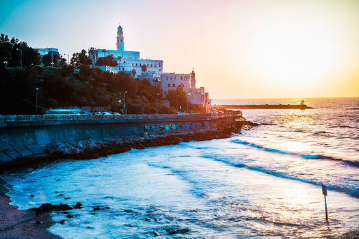Photo JAFFA SUNSET - Jörg Dickmann