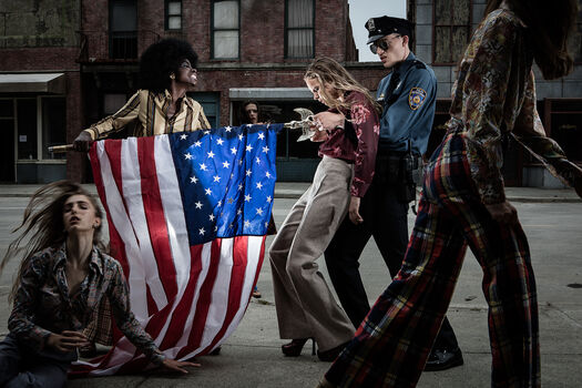 Photo Soiling of old glory - Formento+Formento