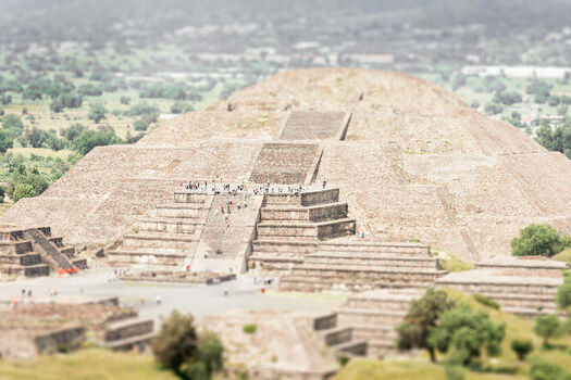 Photo Teotihuacan - Richard Silver
