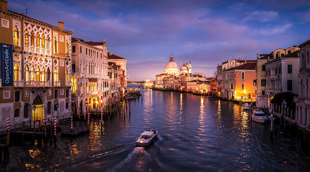 Photo GRAND CANAL SOIR - Serge Ramelli