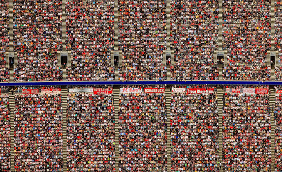 Photo Soccer fans - Klaus Leidorf