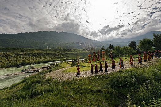 Photo Bumthang - Matthieu Ricard