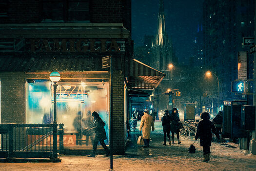 Photo Black night - Franck Bohbot