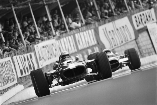 Photo VIC ELFORD, MONACO 1969 - RAINER W SCHLEGELMILCH