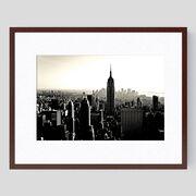 Coucher de soleil sur Manhattan