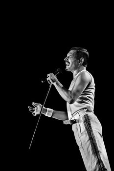 Photo Freddie Mercury - Jan Werner