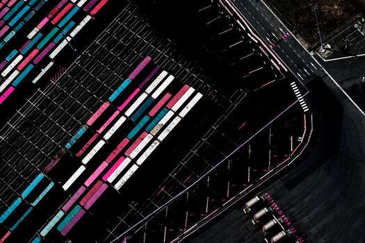 Photo Aerial Pink - Kate Ballis