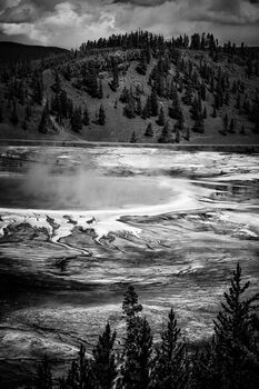 Photo Grand Prismatic Yellowstone - Laurent Baheux