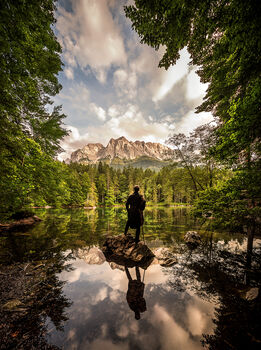 Photo THE WANDERER S JOURNEY III - Bernhard Hartmann