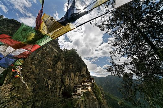 Photo Paro Taktsang - Matthieu Ricard