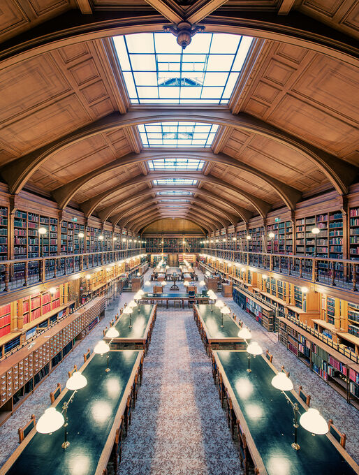 Photo Bibliothèque de l'Hôtel de Ville II - Franck Bohbot