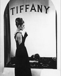 AUDREY HEPBURN IN «BREAKFAST IN TIFFANY'S», 1961