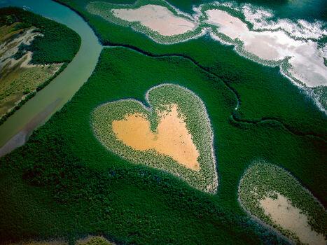 Photo Coeur de Voh, France - Yann Arthus-Bertrand