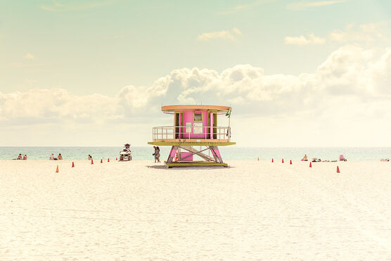 Photo MIAMI BEACH-LIFEGUARD STAND II - LDKPHOTO