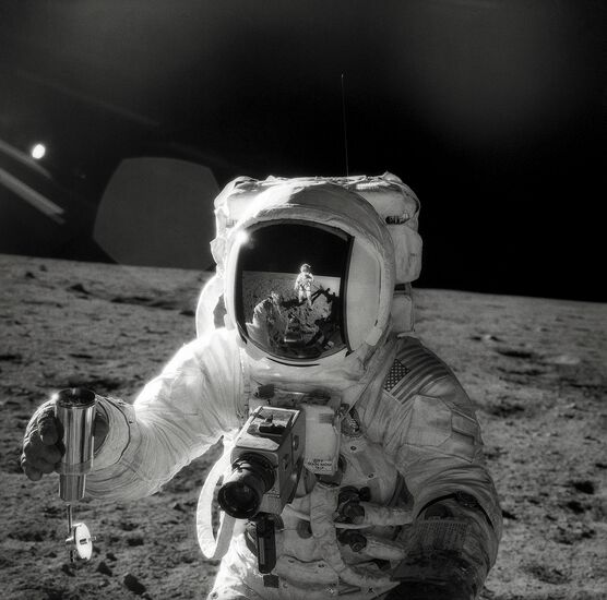 Photo Alan Bean, Apollo 12 - Pete Conrad