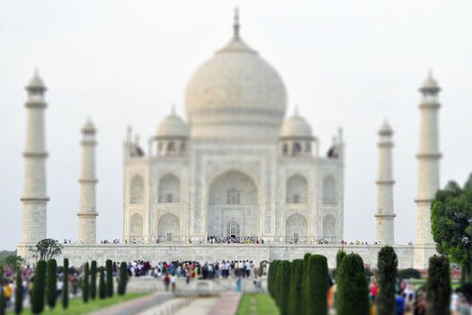 Photo Taj Mahal - Richard Silver