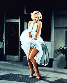 THE SEVEN YEARS ITCH , MARYLIN MONROE