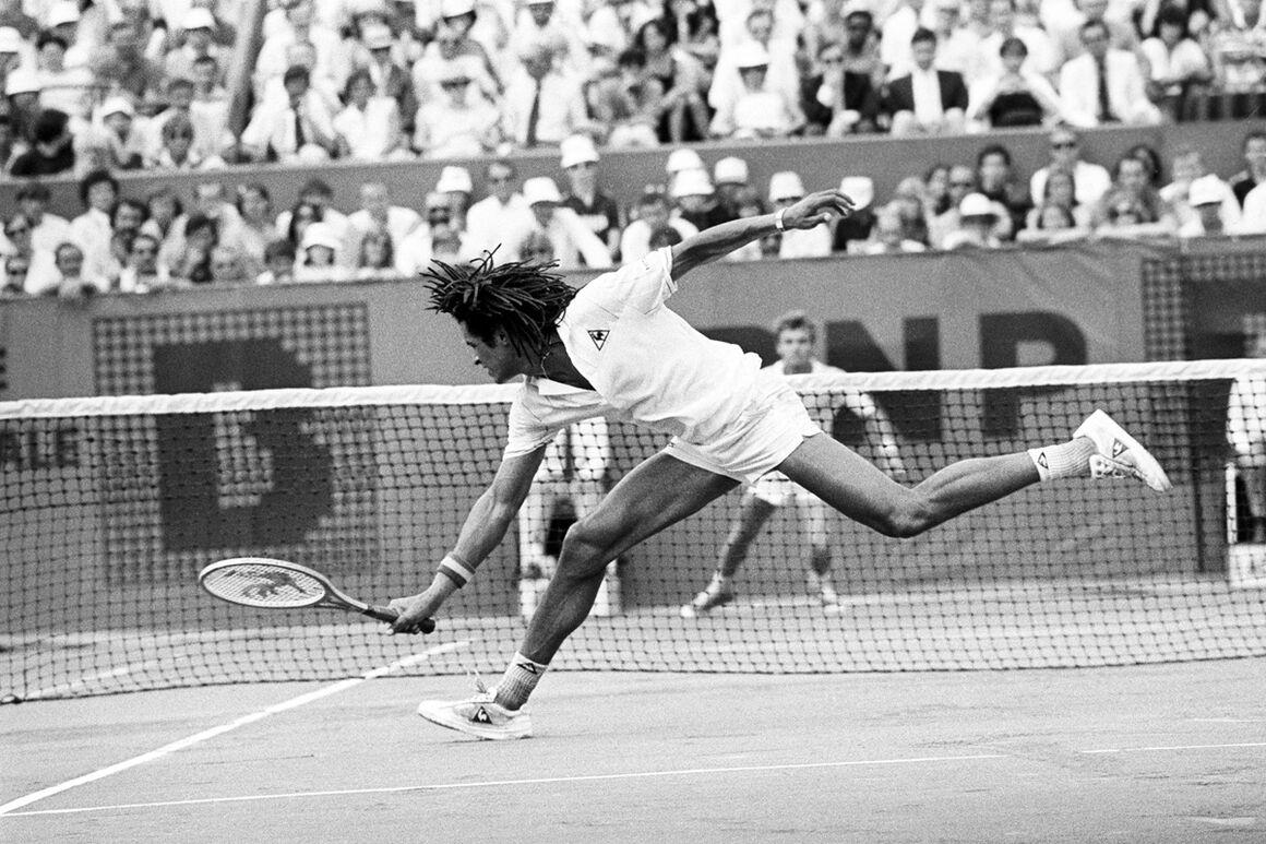 Photograph Finale Roland Garros 1983 Ii Sports Presse