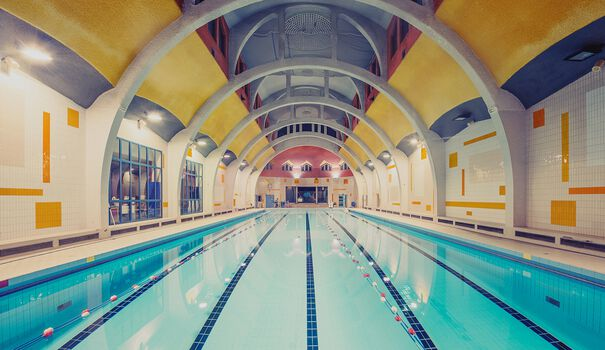 Photo Piscine de la Butte aux Cailles Paris - Franck Bohbot