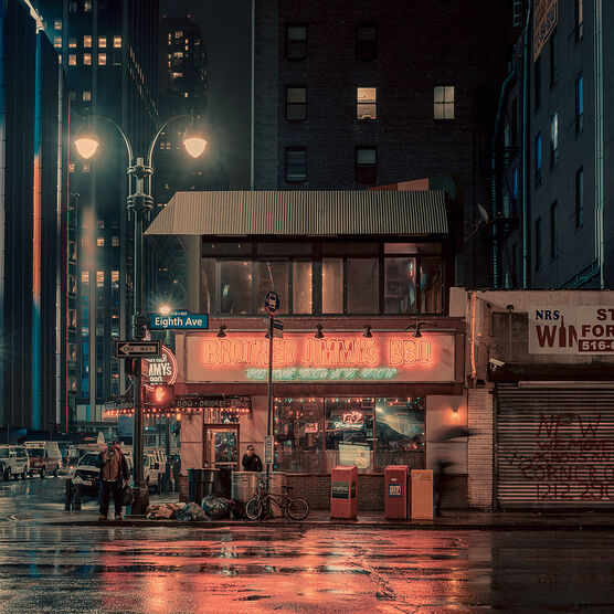 Photo The Brother's Jimmy's BBQ II, NYC - Franck Bohbot