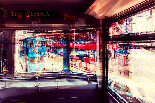 Photo FOO MING STREET TRAM - Laurent Dequick