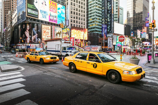 Photo New york yellow cab - Ludwig Favre