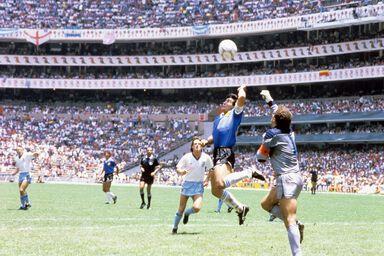 La main de dieu, Mexico 1986