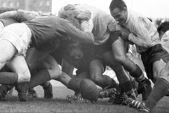 Photo France - Irlande, Colombes 1962 - SPORTS PRESSE